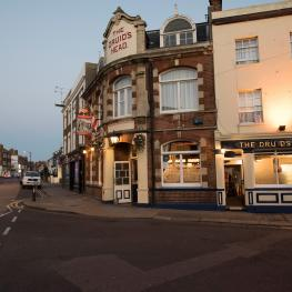 The Druids Head Herne Bay Evening